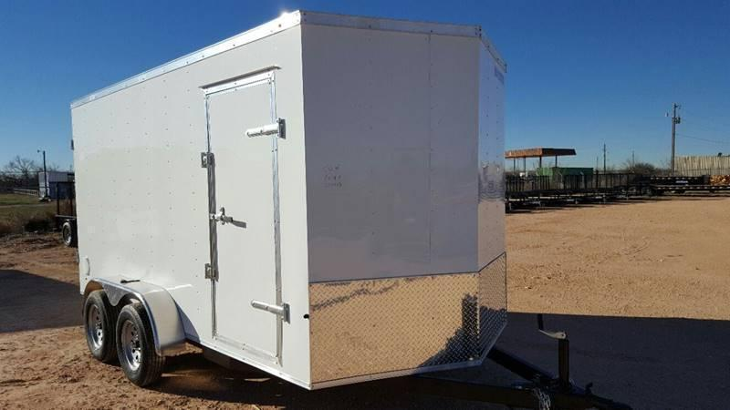 2019 Salvation Trailers 7 X 16 TA Enclosed Barn Doors