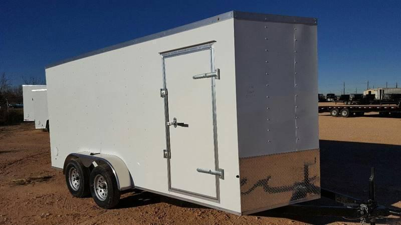 2019 Salvation Trailers 7 X 14 TA Enclosed Ramp Door