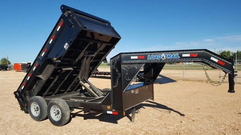 2019 Load Trail 12' Commercial Grade Gooseneck w/ Tarp Kit