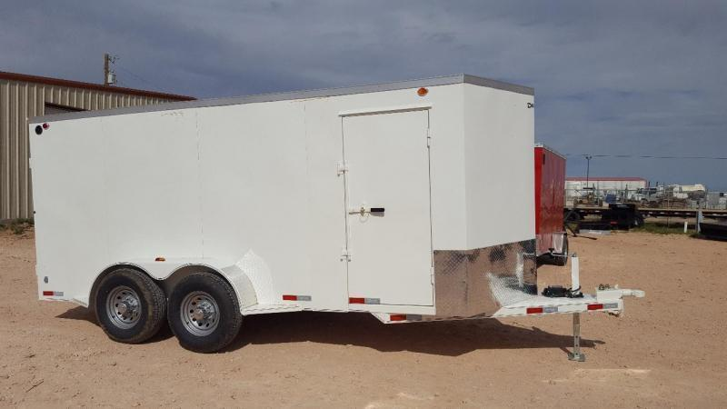 2019 Delco 6.8x18 HD Steel Cargo Trailer