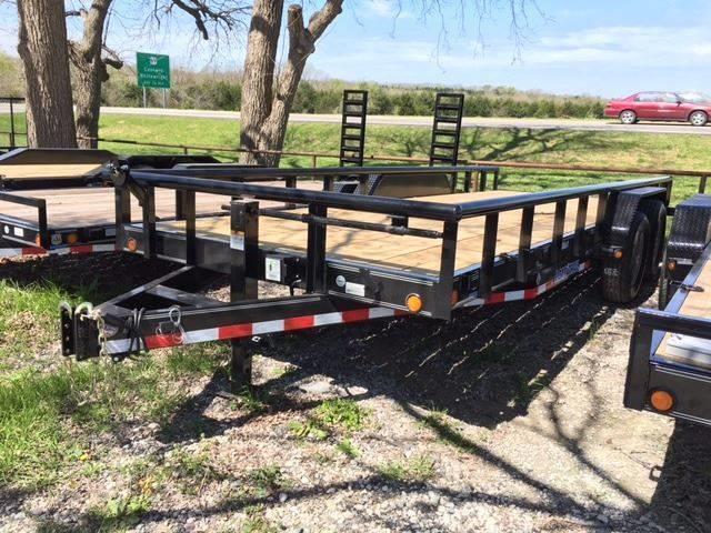"""2019 Load Trail 83"""" X 20' Carhauler 6"""" frame"""