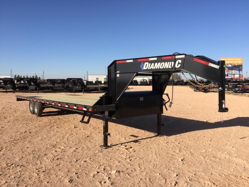 2019 Diamond C 30' Gooseneck 14K Straight Deck