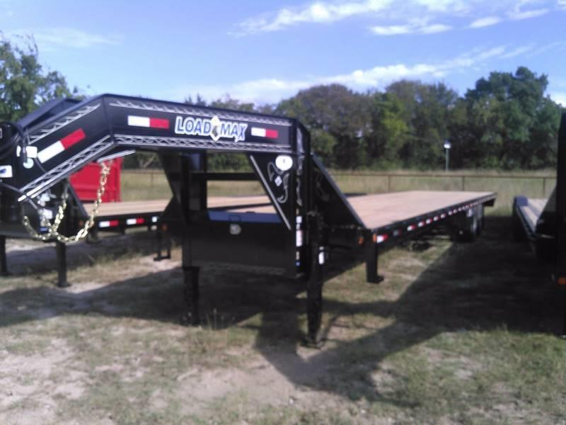 2018 Load Trail 102 x 40' Air Ride W Lift Axle Disc Brakes