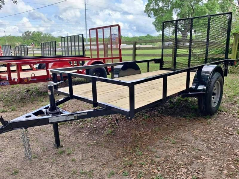 2019 Bye Rite 5x10 Single Axle Utility Trailer