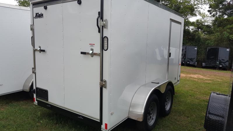 2019 Rock Solid Cargo 6x12 Tandem Axle Enclosed Enclosed Cargo Trailer