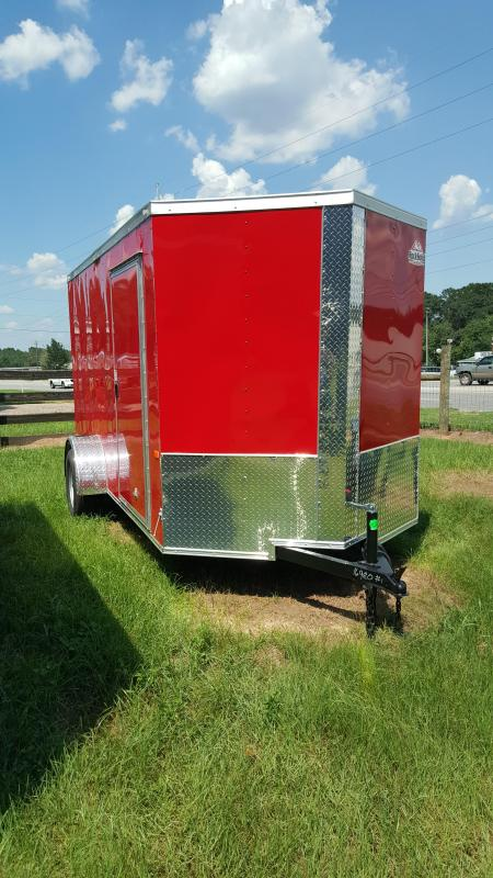 2019 Rock Solid Cargo 6x12 Single Axle Enclosed Cargo Trailer
