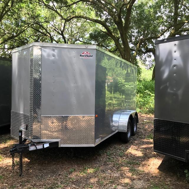 2020 Rock Solid Cargo 7x14 Tandem Axle Enclosed Cargo Trailer