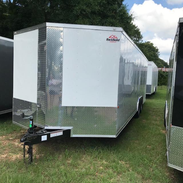 2019 Rock Solid Cargo 8.5x24 Tandem Axle Enclosed Cargo Trailer