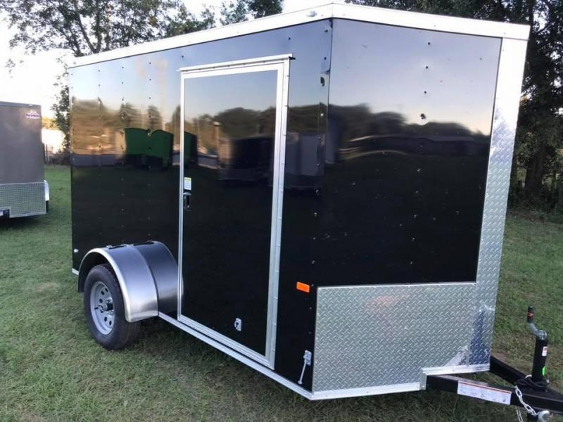 2020 Rock Solid Cargo 6x10 Single Axle Enclosed Cargo Trailer