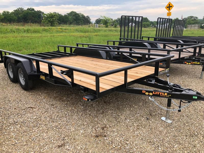 2019 Doolittle Trailers 84x16 Tandem Axle Utility