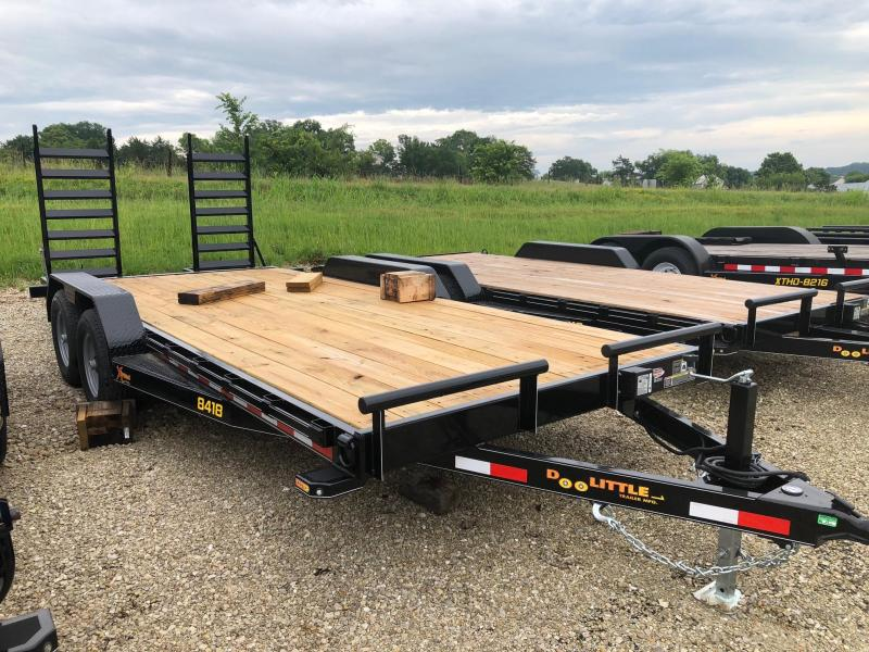 2019 Doolittle Trailers 84x18 Tandem Axle Utility