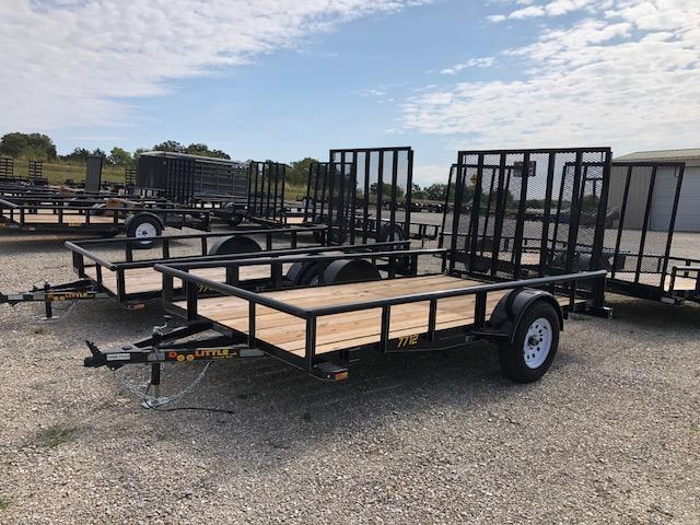 2019 Doolittle Trailers 77x12 Single Axle Utility