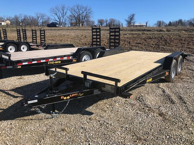 2019 Doolittle Trailers 77x16 Tandem Axle Utility