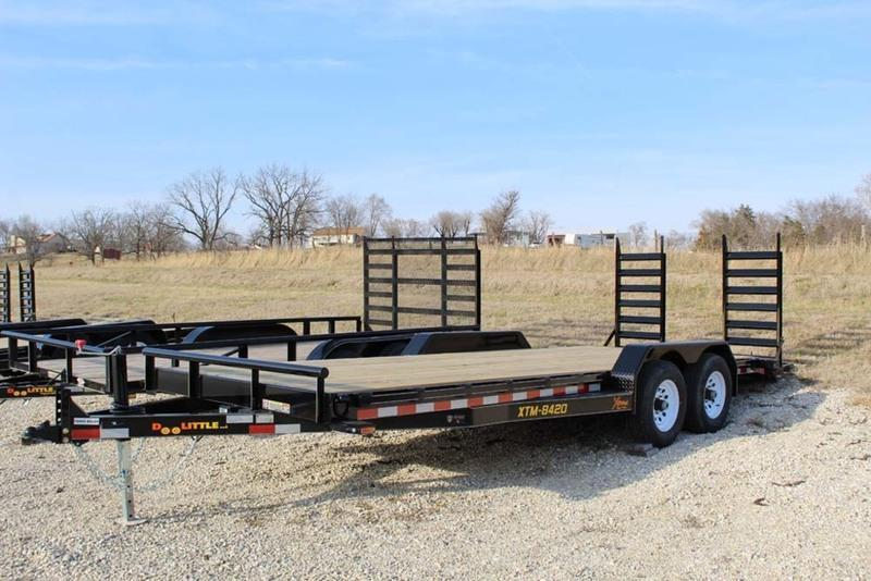 2018 Doolittle Trailers Xtreme Series 84x20 10K Tandem Axle Utility