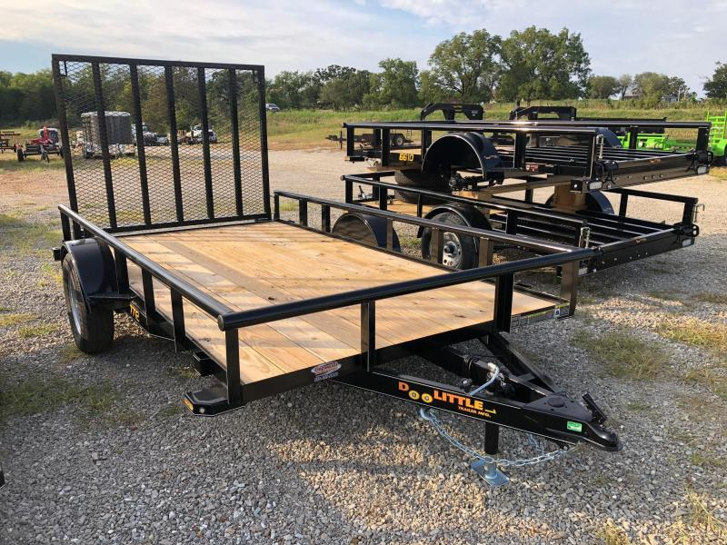 2020 Doolittle Trailers 77x12 Single Axle Utility