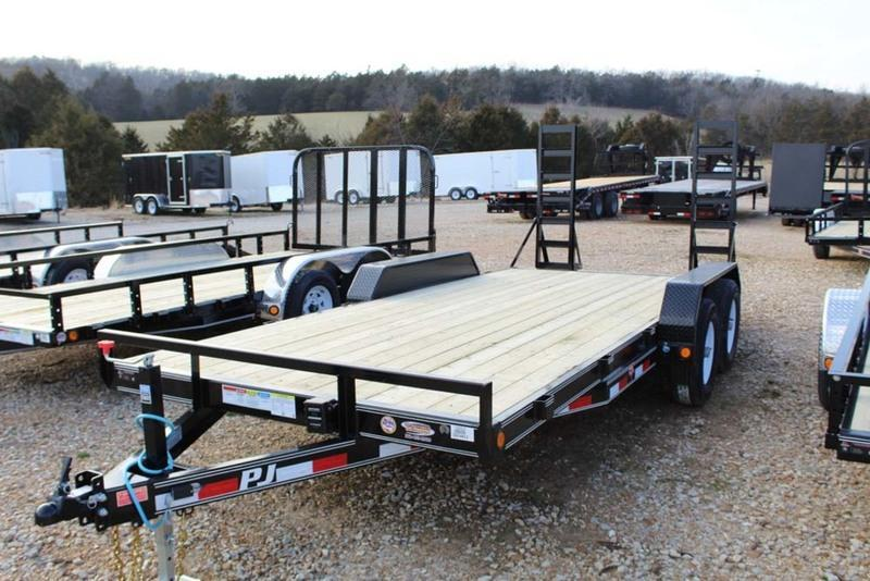 2017 PJ Trailers 83 x 18 10K Equipment Trailers