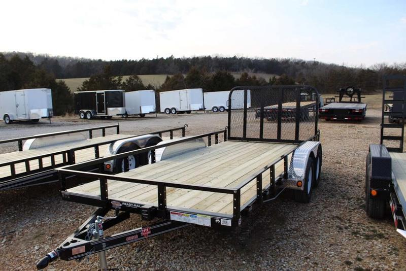 2017 PJ Trailers 83x16 7K Channel Utility (UL)