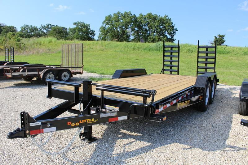 2017 Doolittle Trailers 82x18 Xtreme Equipment Trailer