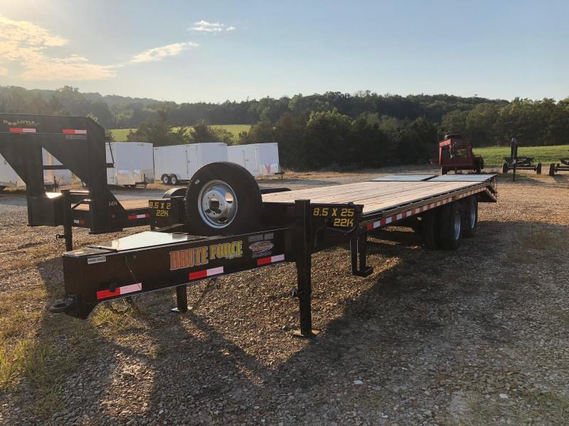2017 Doollittle 102x25 Brute Force Deckover Trailer