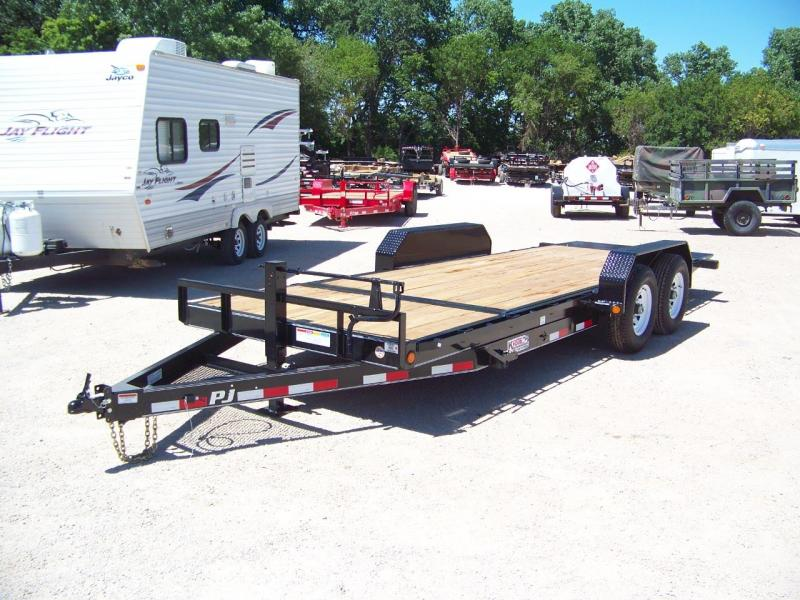 2018 PJ Trailers 6 in. Channel Equipment Tilt (T6) Trailer