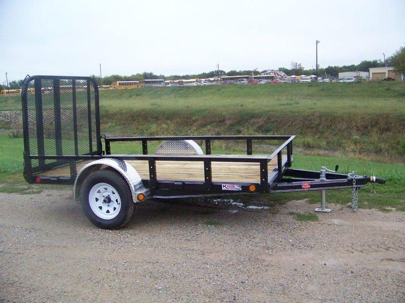 2018 PJ Trailers 72 Channel Utility (U2) 10' Utility Trailer