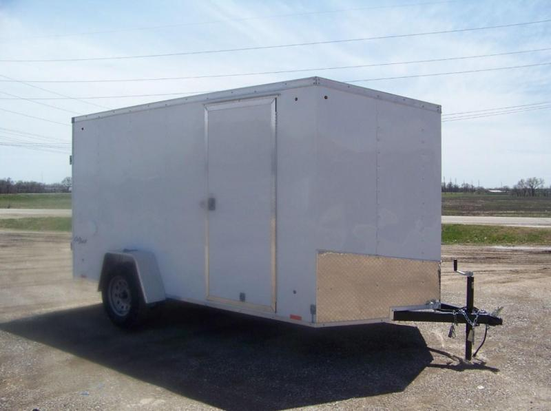2018 Pace American Outback DLX 6X12 Enclosed Cargo Trailer