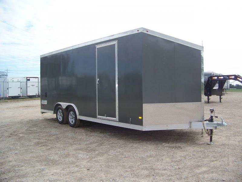 Used 2016 Haulmark ALX 8.5x20 Enclosed Car / Racing Trailer