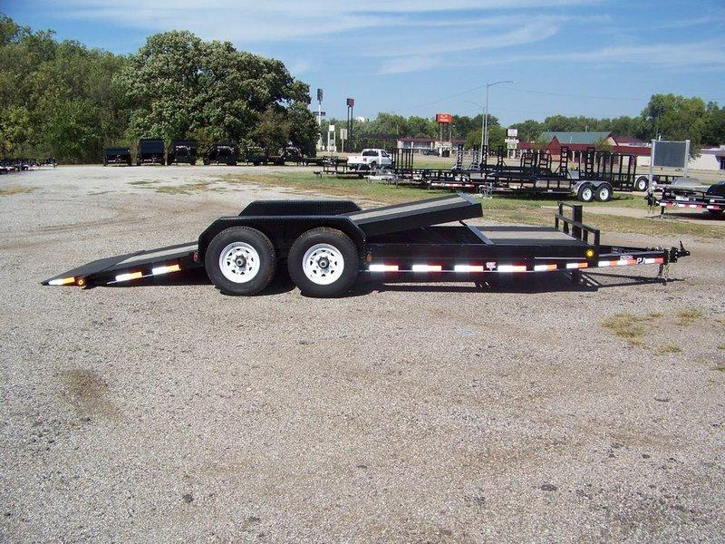 "2017 PJ Trailers 6"" Channel Equipment Tilt (T6) 20'"