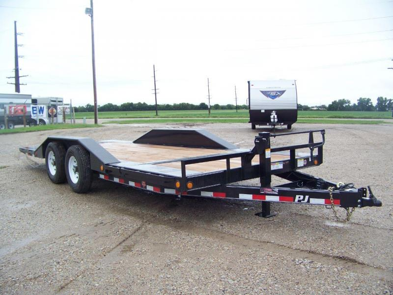 2019 PJ Trailers TSJ2072BTTK Tilt Equipment Trailer