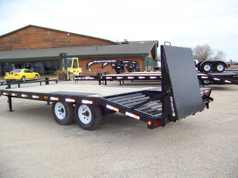 2019 PJ Trailers 8 I-Beam Deckover Equipment Trailer