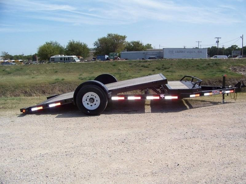 2016 PJ Trailers SA HD Tilt (T1) 16' Equipment Trailer