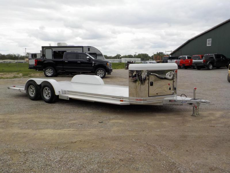 2020 Sundowner Trailers 22' Ultra22BP Open Car / Racing Trailer