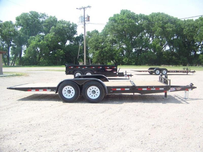 2018 H and H Trailer 16+4 GTL 14K