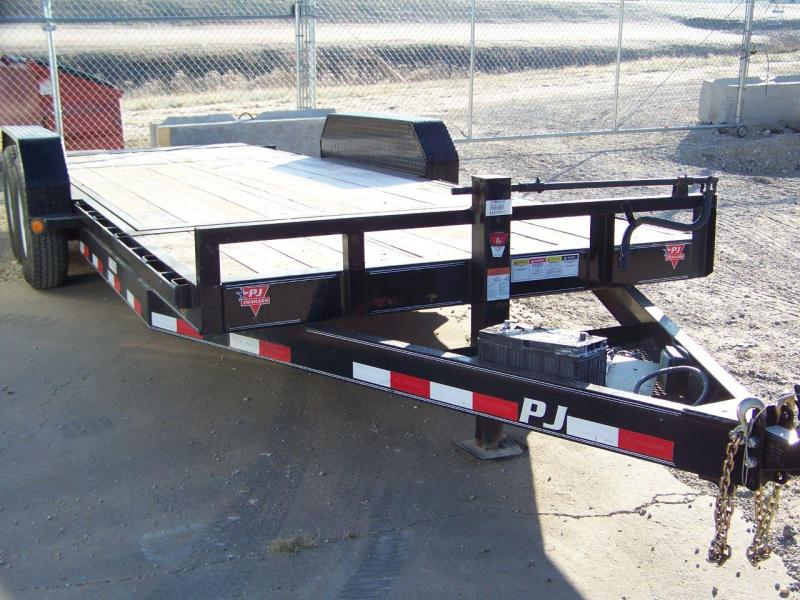 2018 PJ Trailers 6 in. Channel Equipment Tilt (T6) Equipment Trailer