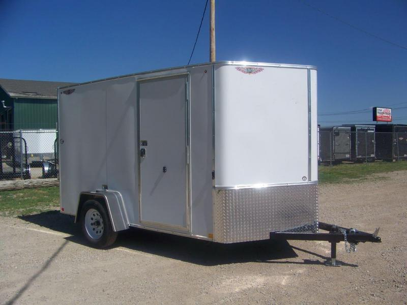 2018 H&H 6X10 Single Axle Enclosed Cargo Trailer