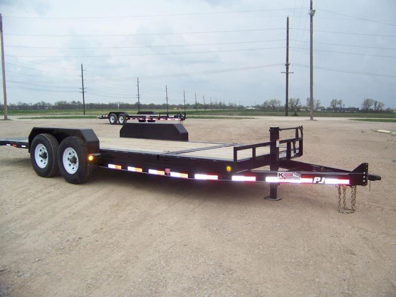 2019 PJ Trailers HD Equipment Tilt