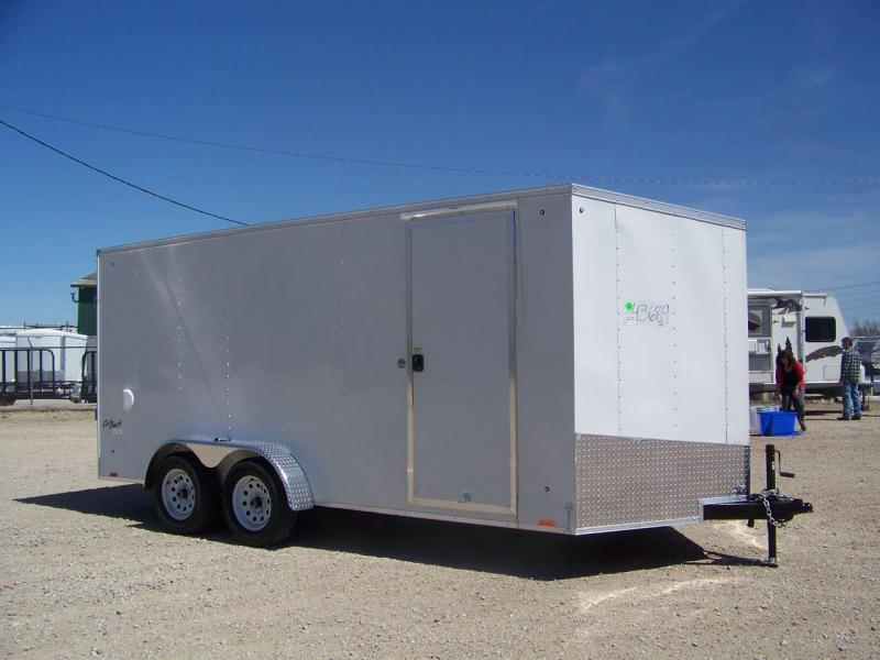 2018 Pace American OB7X16TE2DLX Enclosed Cargo Trailer