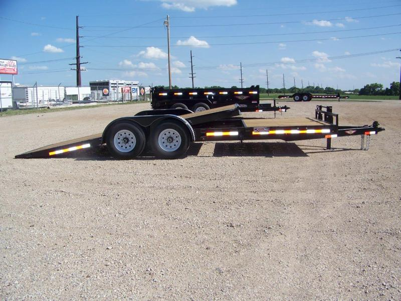2018 H&H 22' GTL Equipment Tilt Trailer