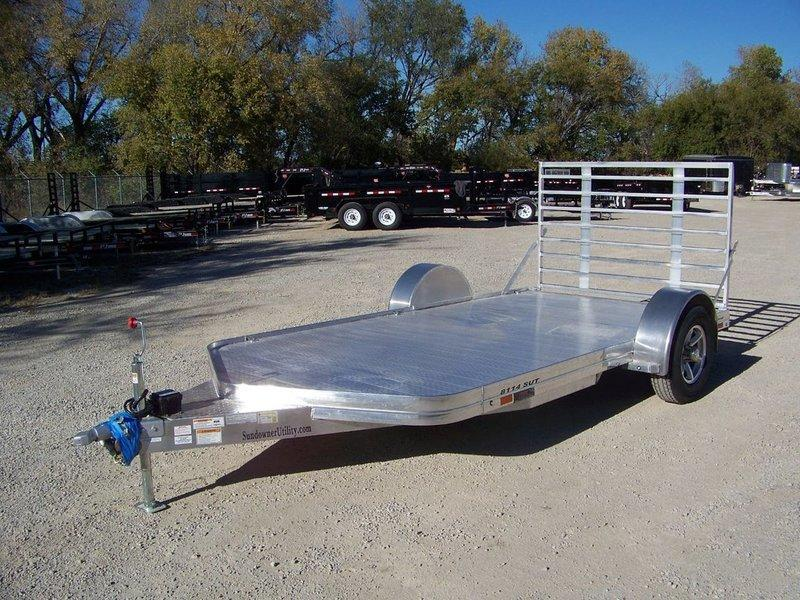 2017 Sundowner Trailers 8114SUT 6.9 x 14 Equipment Trailer