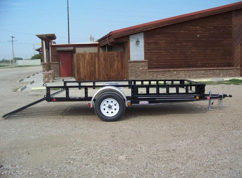 "2018 PJ Trailers 77"" Channel Utility (U7) 12'"
