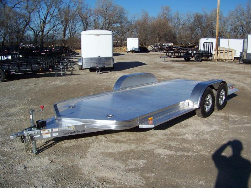 2017 Sundowner Trailers Open Car Hauler Car / Racing Trailer