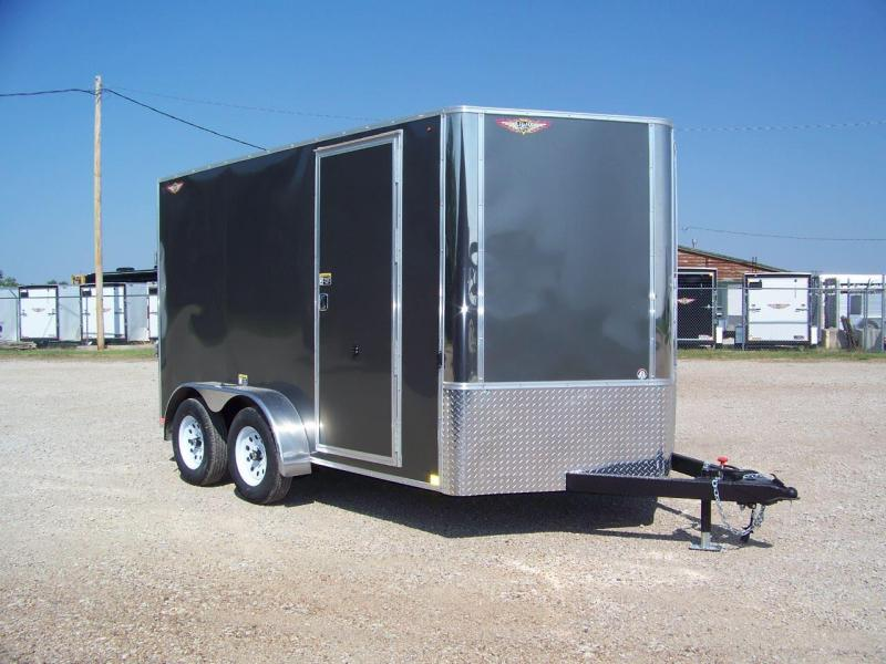 2019 H&H 7x12 TFT Enclosed Cargo Trailer