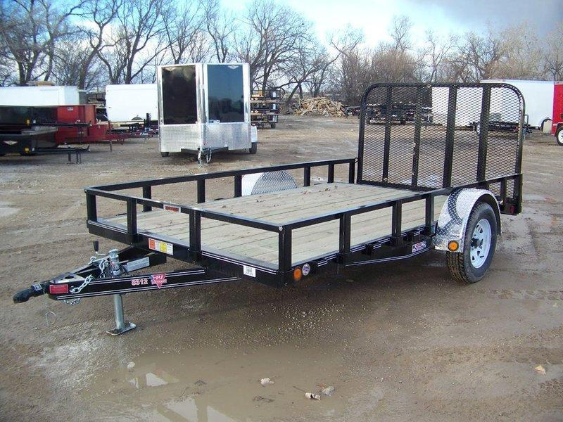 "2018 PJ Trailers 83"" Channel Utility (U8) 12'"