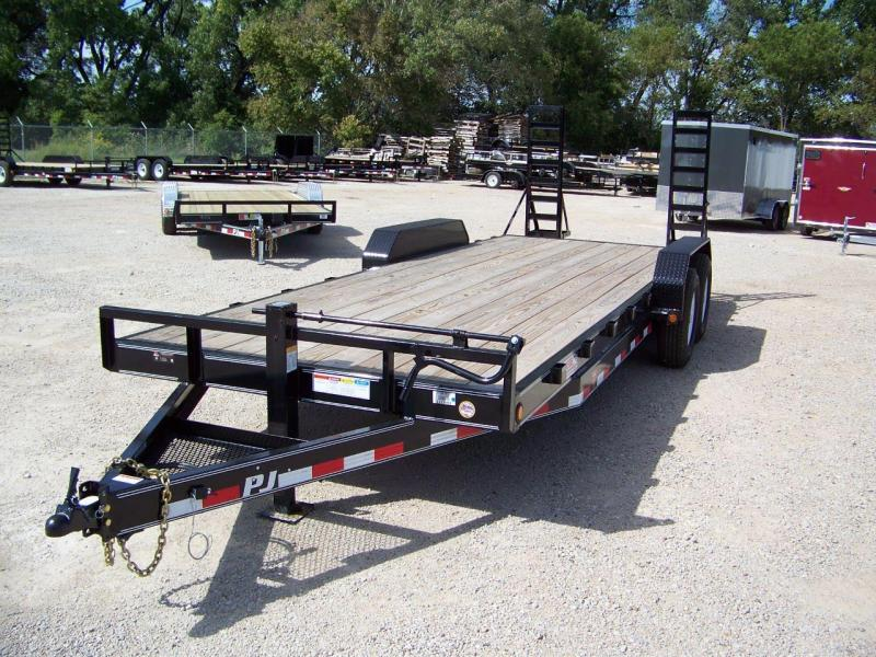 "2019 PJ Trailers 22' x 6"" Channel Equipment Trailer"