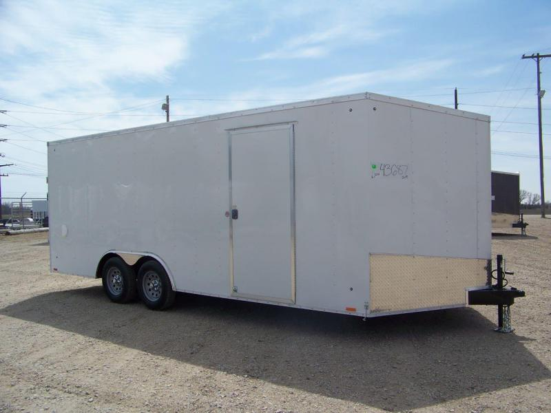 2019 Pace American Outback DLX 8.5X20 Enclosed Car / Racing Trailer