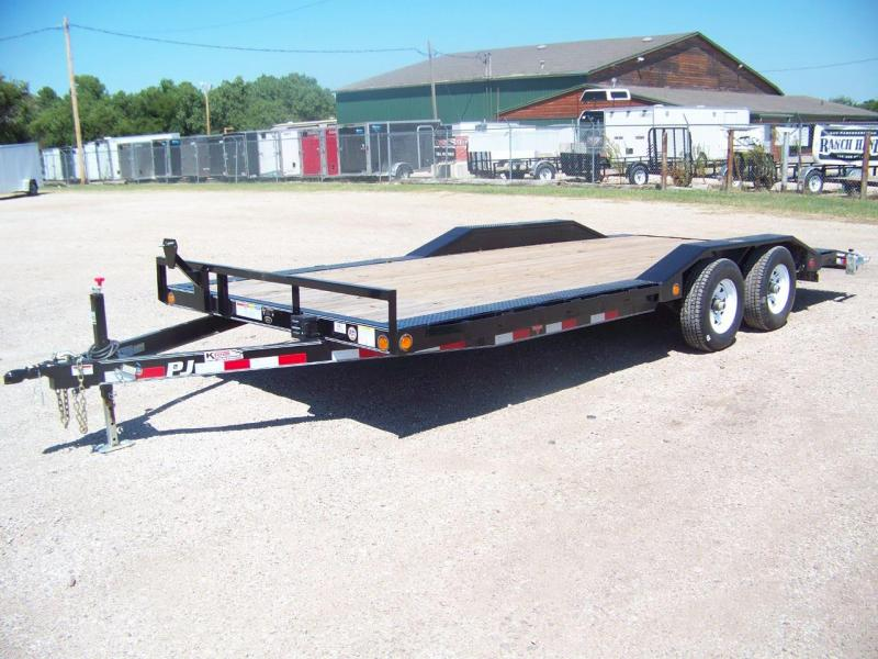 2018 PJ Trailers 5 in. Channel Buggy Hauler Open Trailer