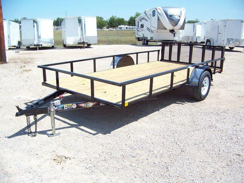 2016 H and H Trailer 8.5X14F Utility Trailer