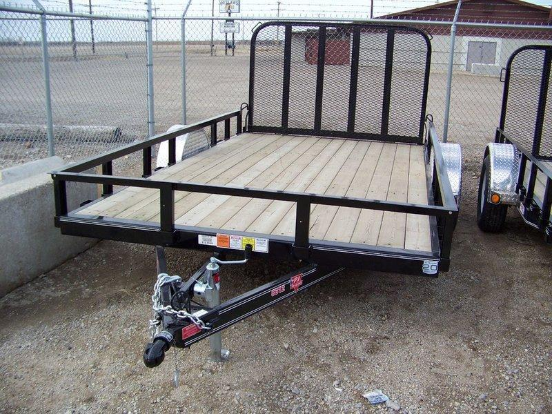 "2017 PJ Trailers 83"" Channel Utility (U8) 14'"