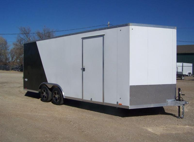 Used 2019 Pace 20' Enclosed Car / Racing Trailer