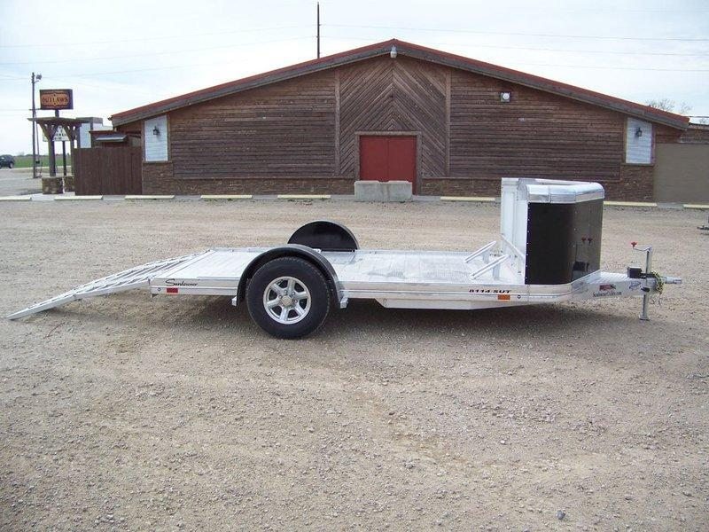 2018 Sundowner Trailers 8114SUT 6.9 x 14 Motorcycle Trailer